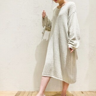 gelato pique - ジェラートピケ♡'エアリーモコ'ドレス