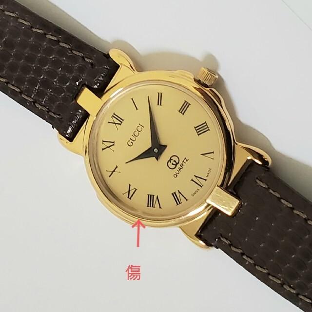 Gucci(グッチ)のGUCCI 美品 レディース腕時計 ゴールド ローマン グッチ レディースのファッション小物(腕時計)の商品写真
