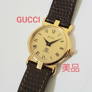 Gucci - GUCCI 美品 レディース腕時計 ゴールド ローマン グッチ