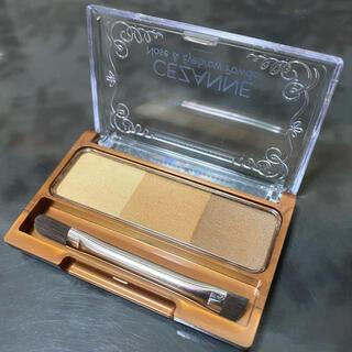 CEZANNE(セザンヌ化粧品) - セザンヌ ノーズ&アイブロウパウダー 01 キャメル(3g)