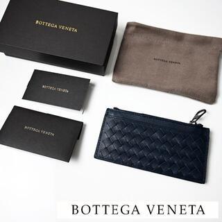 Bottega Veneta - 新品 BOTTEGA VENETA ミニウォレット コインケース 小銭入れ青