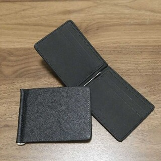 新品未使用マネークリップ型折り畳み財布(マネークリップ)