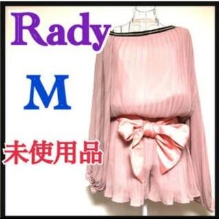 Rady - RADY レディー ワンショルダー コンビネゾン オールインワン  ピンク M