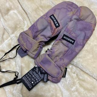バートン(BURTON)のバートン ミトン手袋 スノーボード 美品(ウエア/装備)