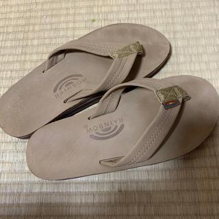BEAMS - rainbow sandals ヌバック ダブル ダブルアーチ mサイズ