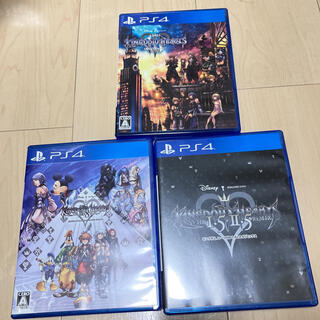 PlayStation4 - PS4 キングダムハーツ 3点セット