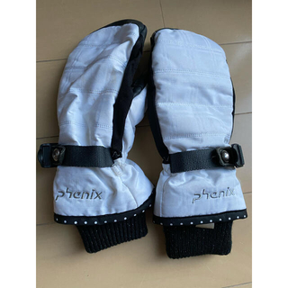 エレッセ(ellesse)のPHENIX レディース スノーボード 手袋 ミトン スノーグローブ 帽子(ウエア/装備)