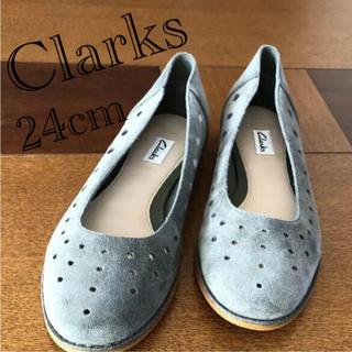 クラークス(Clarks)のクラークス フラットシューズ(ハイヒール/パンプス)