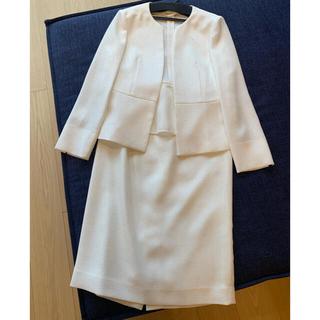 ANAYI - ANAYI  アナイ ママ ノーカラージャケットスーツ  卒業式 入学式
