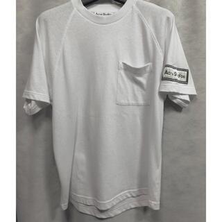 20ss Acne studios スリーブロゴ Tシャツ