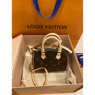 LOUIS VUITTON - 激レア新品 ルイヴィトン   ナノスピーディー
