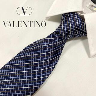 ヴァレンティノ(VALENTINO)の【高級ブランド】VALENTINO ヴァレンティノ ネクタイ(ネクタイ)