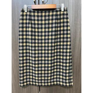 ビームス(BEAMS)の【ビームス】チェックタイトスカート (ひざ丈スカート)