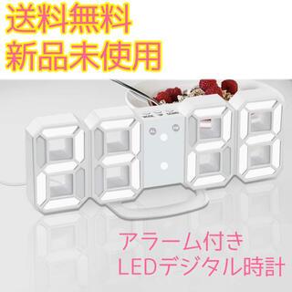 ♡︎LEDデジタル時計♡︎新品 置き時計 壁掛け時計 韓国 おしゃれ時計(置時計)