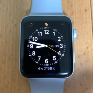 Apple Watch - Apple Watch series3 42mm GPSモデル
