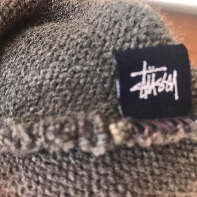 STUSSY(ステューシー)のSTUSSY ステューシー ニット帽 メンズの帽子(ニット帽/ビーニー)の商品写真