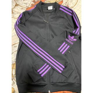 adidas - adidas ジャージ 紫