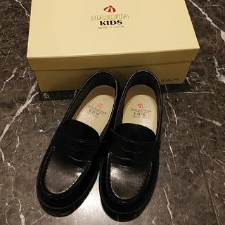 ハルタ(HARUTA)の⚫子供靴 20cm⚫黒 ローファー ⚫HARUTA(ローファー/革靴)