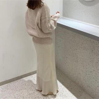 EDIT.FOR LULU - Charles chaton shell long skirt