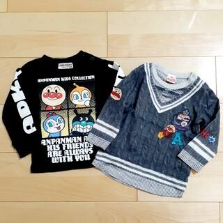 アンパンマン(アンパンマン)のアンパンマン❣️長袖Tシャツ2枚セットsize90(Tシャツ/カットソー)