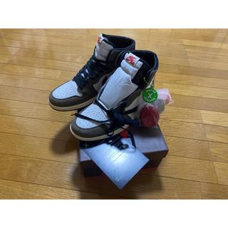 NIKE - Air Jordan1 High × Travis scott トラビス