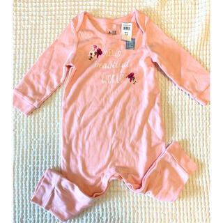 babyGAP - 新品 ロンパース  GAP ピンク 花 フラワー 女の子