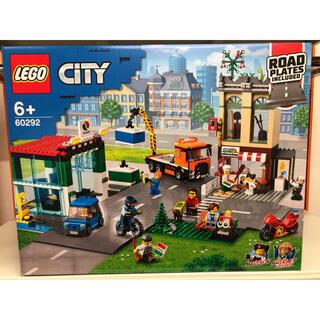 Lego - 【新品未開封】レゴ シティ タウンセンター ロードプレート 60292