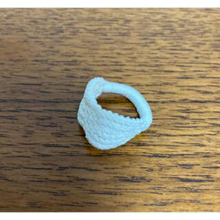 アッシュペーフランス(H.P.FRANCE)の神戸北野セレクトショップ購入 レース編みリング ハンドメイド(リング(指輪))