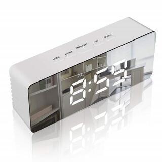 【大幅★値下】目覚まし時計 LED デジタル(置時計)