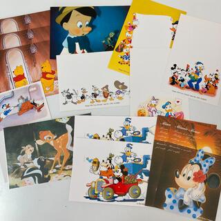 ディズニー(Disney)の【ディズニー】ポストカードセット|新品・未使用品(使用済み切手/官製はがき)