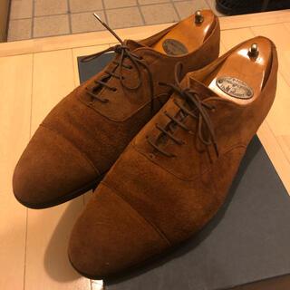 EDWARD GREEN - 「旧工場製」エドワードグリーン×Pスチュアート別注スエード靴 チェルシー 202