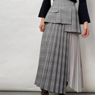snidel - スイッチングプリーツスカート