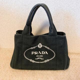 PRADA - PRADA カナパ ブラック バッグ