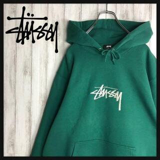 STUSSY - 【即完売モデル】 未使用品 STUSSY ステューシー パーカー 刺繍ロゴ