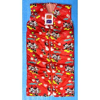 ディズニー(Disney)のディズニー☆新品☆かいまき毛布☆赤系☆着る毛布☆夜着毛布☆ミッキー☆ミニー(その他)
