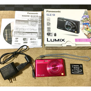 パナソニック(Panasonic)のPanasonicデジタルカメラ LUMIX DMC-SZ9(コンパクトデジタルカメラ)
