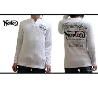 ノートン(Norton)のNorton ノートン 新品7689円→4990円ワッフルヘンリーロンT(Tシャツ/カットソー(七分/長袖))