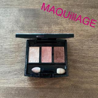MAQuillAGE - マキアージュ アイシャドウ ベージュ ブラウン シャドウケース