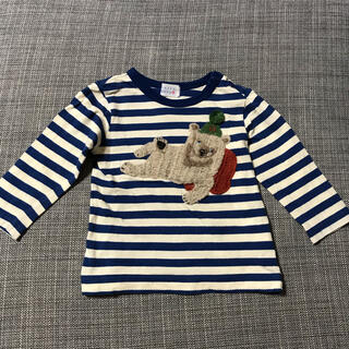 ハッカベビー(hakka baby)のハッカベビー*ボーダー Tシャツ ロンT(シャツ/カットソー)