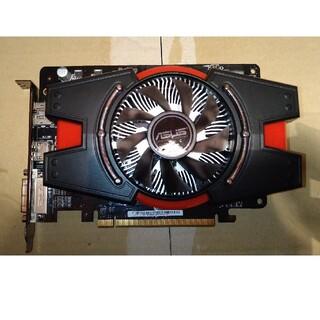 エイスース(ASUS)のASUS HD7750 RADEON グラフィックボード(PCパーツ)