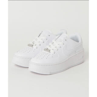 NIKE - nike airforce1 sagelow ホワイト
