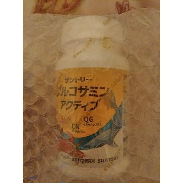 サントリー(サントリー)のサントリー グルコサミンアクティブ 180粒 食品/飲料/酒の健康食品(その他)の商品写真