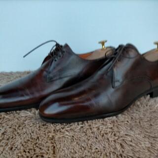 サントーニ(Santoni)のサントーニ 革靴 santoni ブラウン(ドレス/ビジネス)