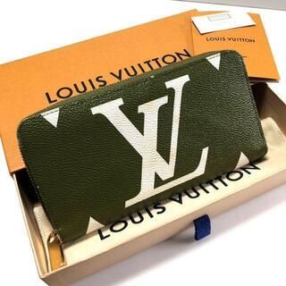 LOUIS VUITTON - 新品 ルイヴィトン モノグラム ジャイアント ジッピー・ウォレット A136