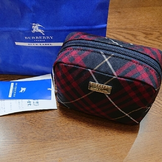 BURBERRY BLUE LABEL - BURBERRY BLUE LABELポーチ