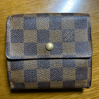 ルイヴィトン(LOUIS VUITTON)のルイヴィトン ダミエ 折財布(折り財布)