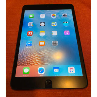 アイパッド(iPad)の美品 iPad mini 16G Wi-Fiモデル ブラック Netflix(タブレット)