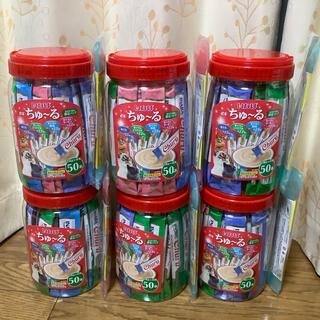 イナバペットフード(いなばペットフード)のいなば ちゅーる海外限定パック50本入りx6缶 新品未開封(ペットフード)