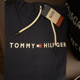 TOMMY HILFIGER - 早い者勝ちトミーヒルフイガー ネイビースウェット・パーカー未使用級