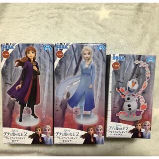 ディズニー(Disney)のアナと雪の女王2 プレミアムフィギュア セット(アニメ/ゲーム)